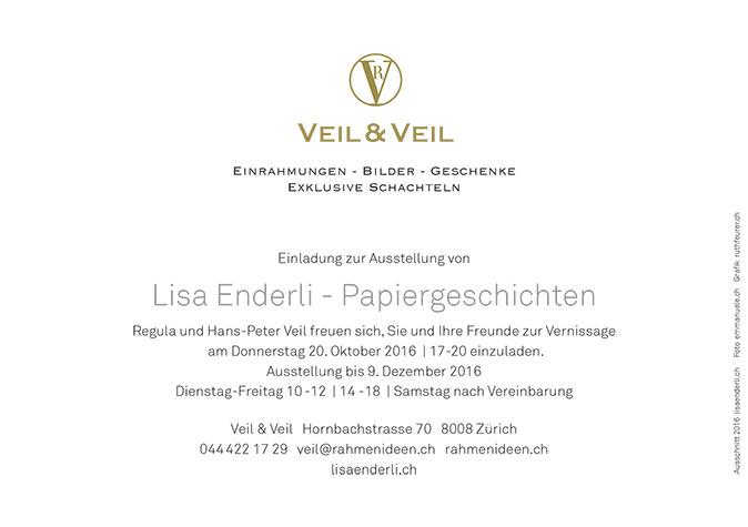 Veil & Veil, Papiergeschichten